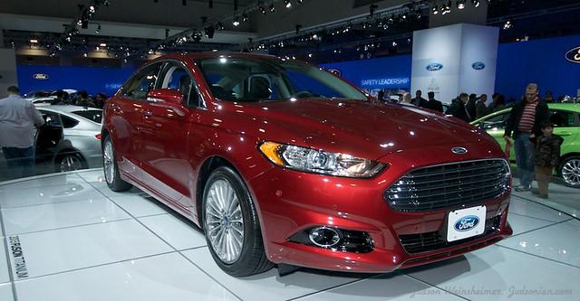 2013 Washington Auto Show - Upper Concourse - Ford 2