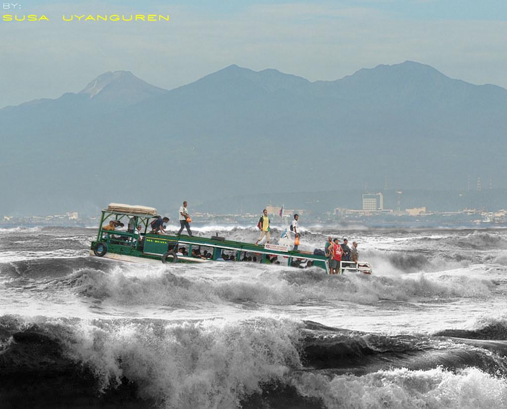 DAVAO CITY | Giant Waves, Tsunami, Hydraulics, Rough Sea, St… | Flickr