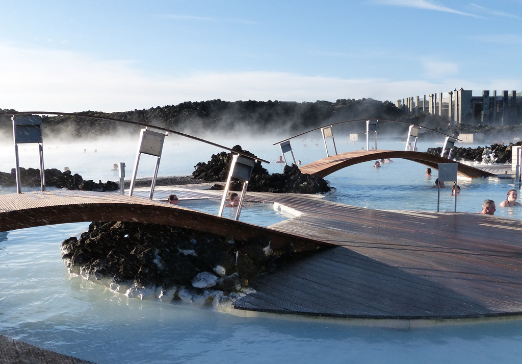 Thermal baths at The Blue Lagoon