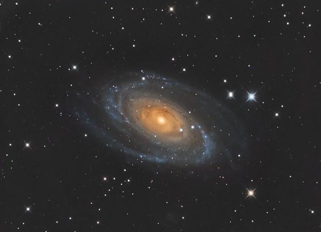 M81 - Grand Design Spiral Galaxy