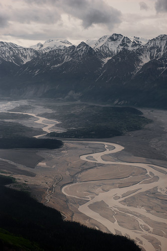 Upper reach of Chitina River   by Wrangell-St. Elias National Park
