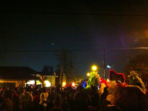 2nd & Dryades on St Joseph's Night 2013. Photo by Melanie Merz.