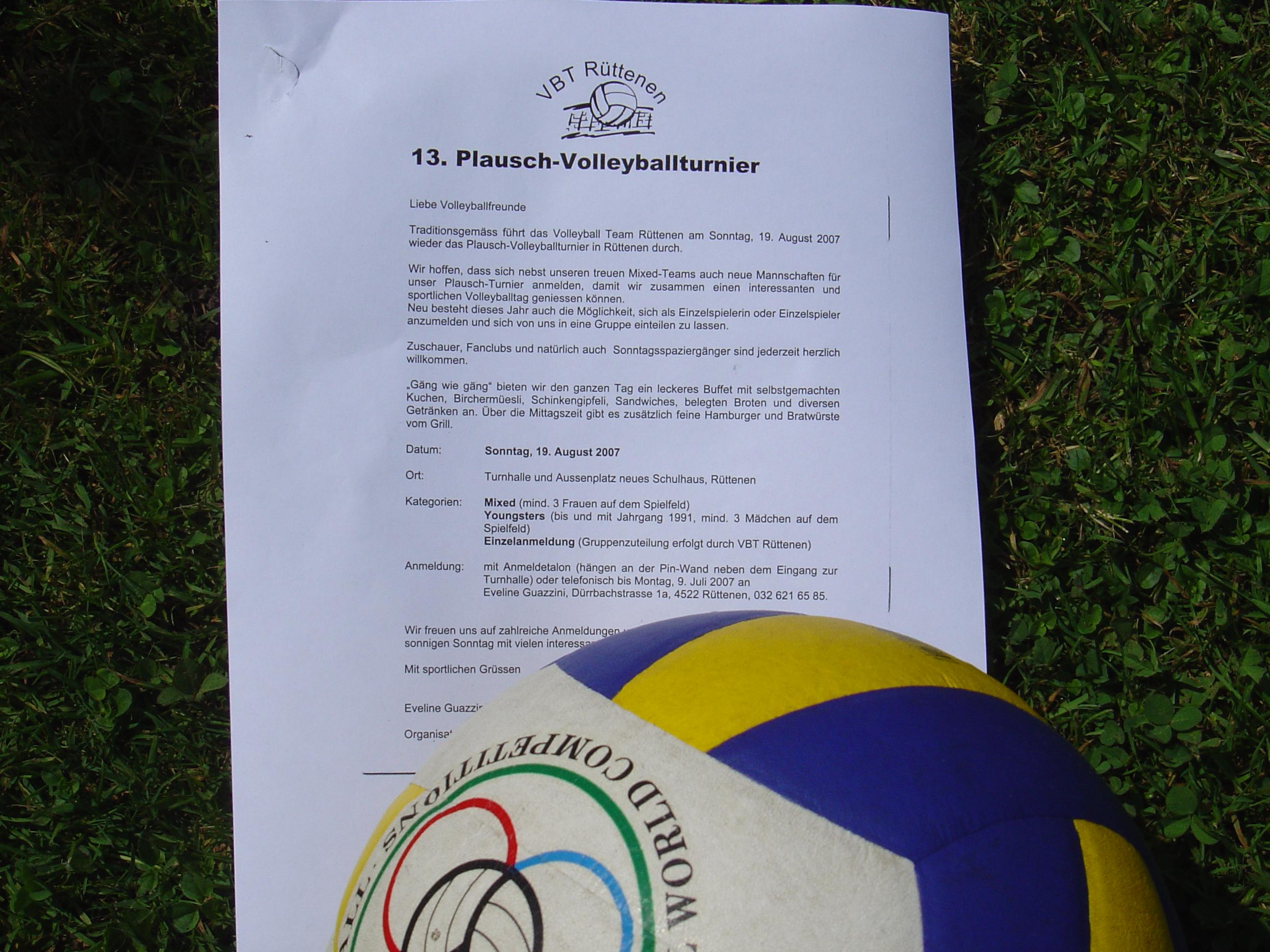 Volleyball 2007