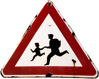 "Warning Sign ""Children"" in Obzor (AP4E7013 1PS)"
