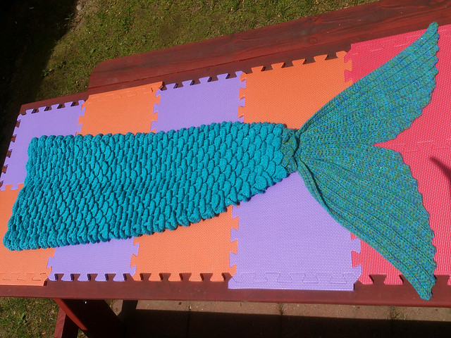Free Mermaid Tail Crochet Pattern Free Mermaid Tail Croche Flickr