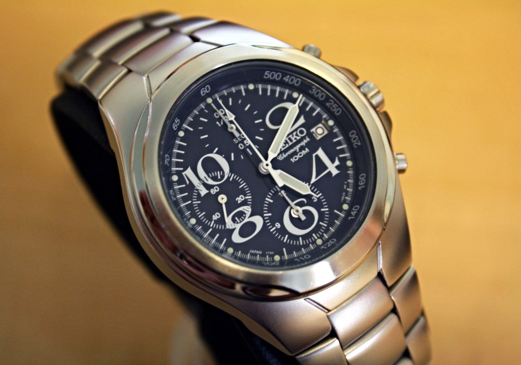 official photos 5467c 3a41b SEIKO 7T92-0BR0 1/20sec Chronograph watch | WAI's Watch ...