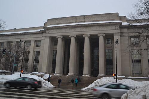 圖10.這是麻省理工大學,波士頓的另一所名校。
