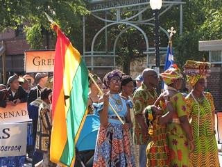 Ghana at the International Folk Festival Parade