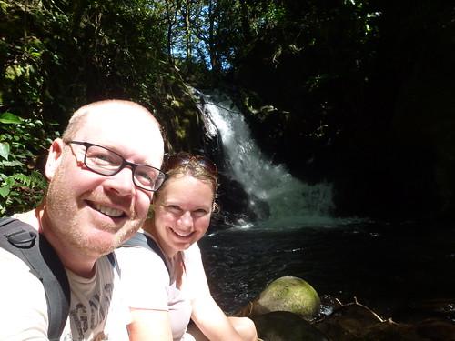 Parque Nacional Rincon de la Vieja - bij waterval