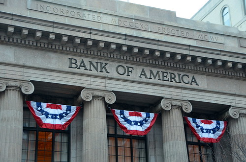 Bank of America bunting | by afagen
