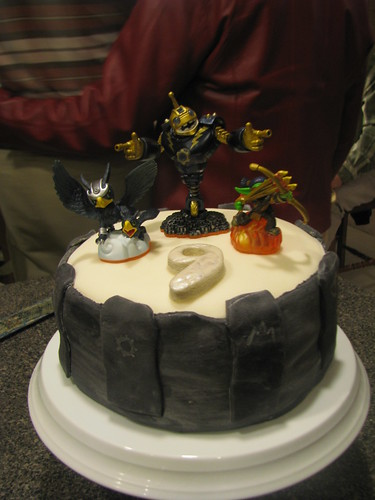 Skylanders Portal of power cake | by funfawn