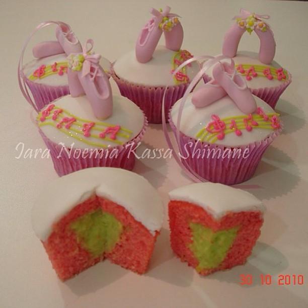 Cupcake bailarina. #cupcake #cupcakes #pastaamericana #gum