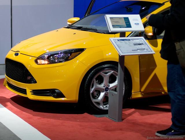 2013 Washington Auto Show - Upper Concourse - Ford 15
