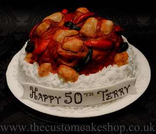 Prime Chicken Jalfrezi Curry Birthday Cake I Made This Chicken J Flickr Birthday Cards Printable Inklcafe Filternl