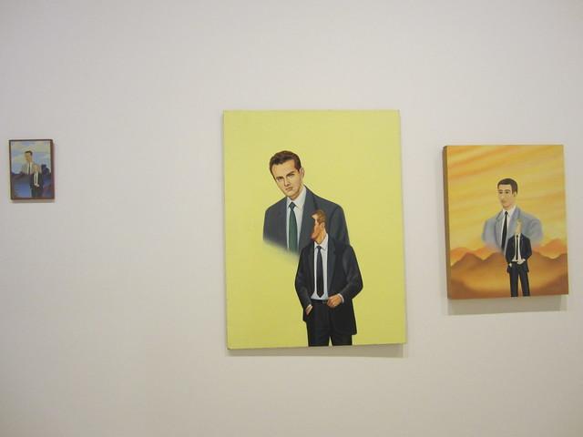 Francis Alÿs 'Three Men in Cravats Triptych'