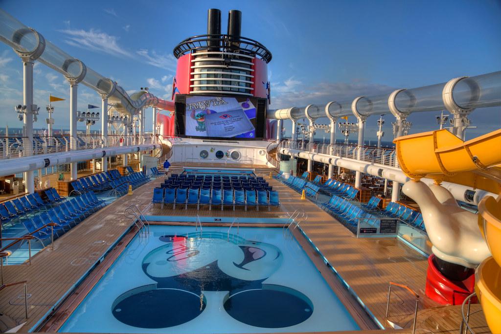 Pool Deck, Disney Dream Cruise