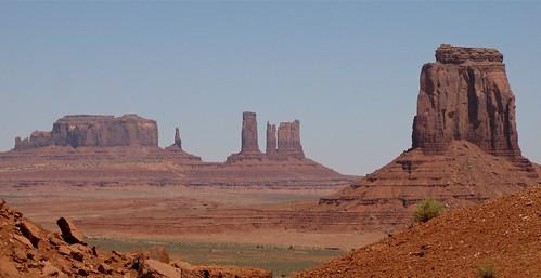 usa landscape monumentvalley paysage roche amérique érosion