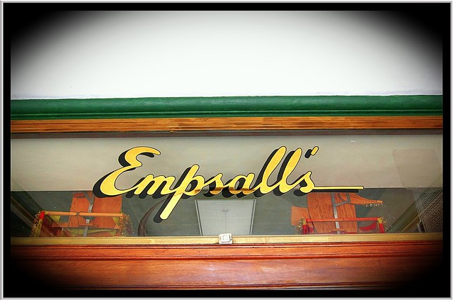 Watertown NY ~ Entrance ~ Empsalls Department Store ~ Closed