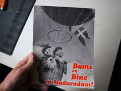 Bams en Bine in Madurodam!