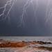 Lightning spell off shore [Explore] by Francesco Magoga Photography