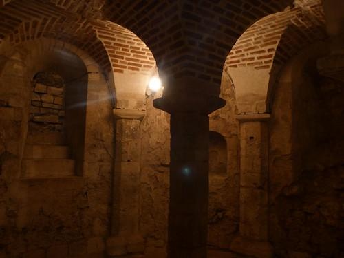 Cripta de Saint Avit en Orleans (Valle del Loira, Francia)