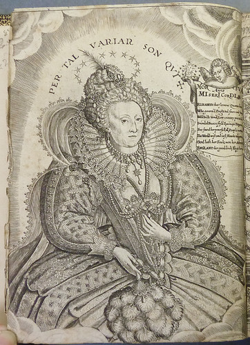 Engraving of Queen Elizabeth I, with chronogram recording the year of her death (1603) | by Provenance Online Project
