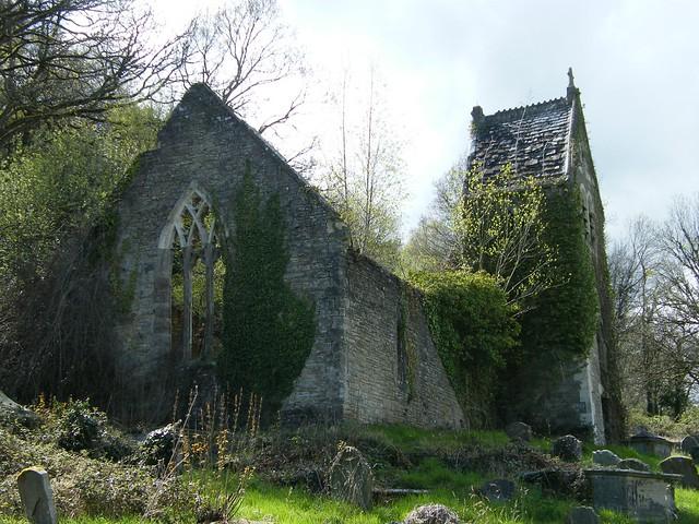 Old Church - St Mary's church Chapel Hill, Tintern