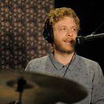 Tue, 19/06/2018 - 2:01pm - Dawes (Taylor Goldsmith, Griffin Goldsmith, Wylie Gelber, Lee Pardini, Trevor Menear) performs in WFUV's Studio A, 6/19/18. Photo by Neil Swanson