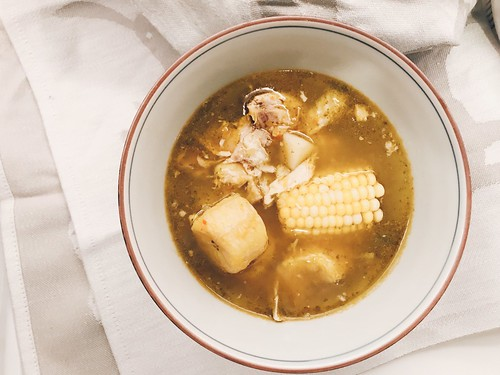 Sancocho, Colombian chicken and plantain soup | by ext212