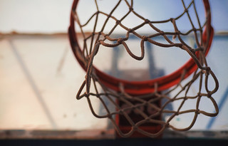 Under the Basketball Hoop | by dejankrsmanovic