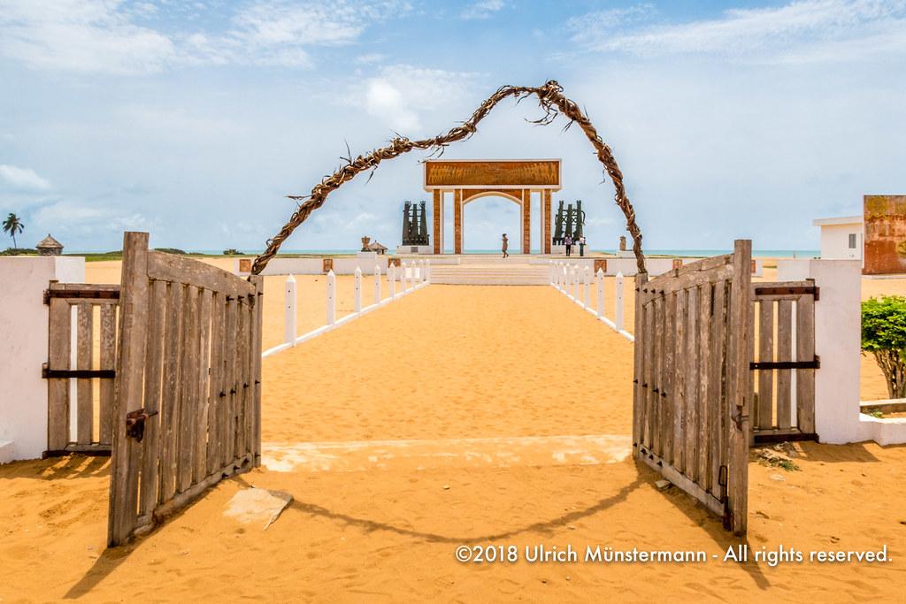 La Porte du Non Retour/The Door of No Return, Ouidah, Beni… | Flickr