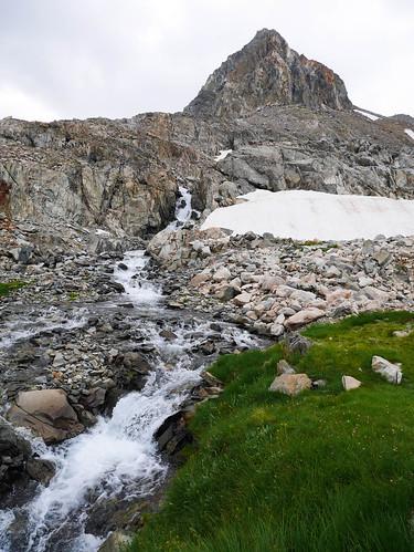 Waterfall below Muir Pass | by snackronym