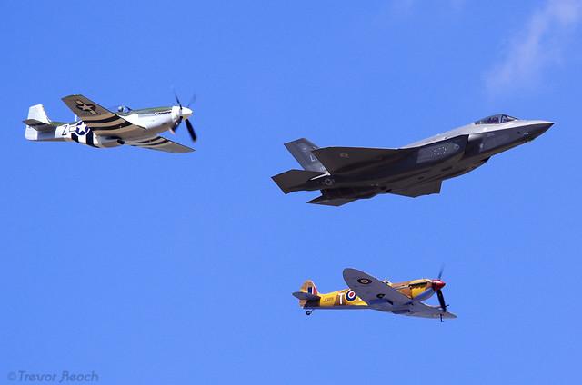 2018 USAF Heritage Flight