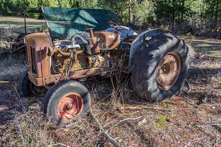 old tractor @ Carboor, KP__1531 | by rodgrant1947