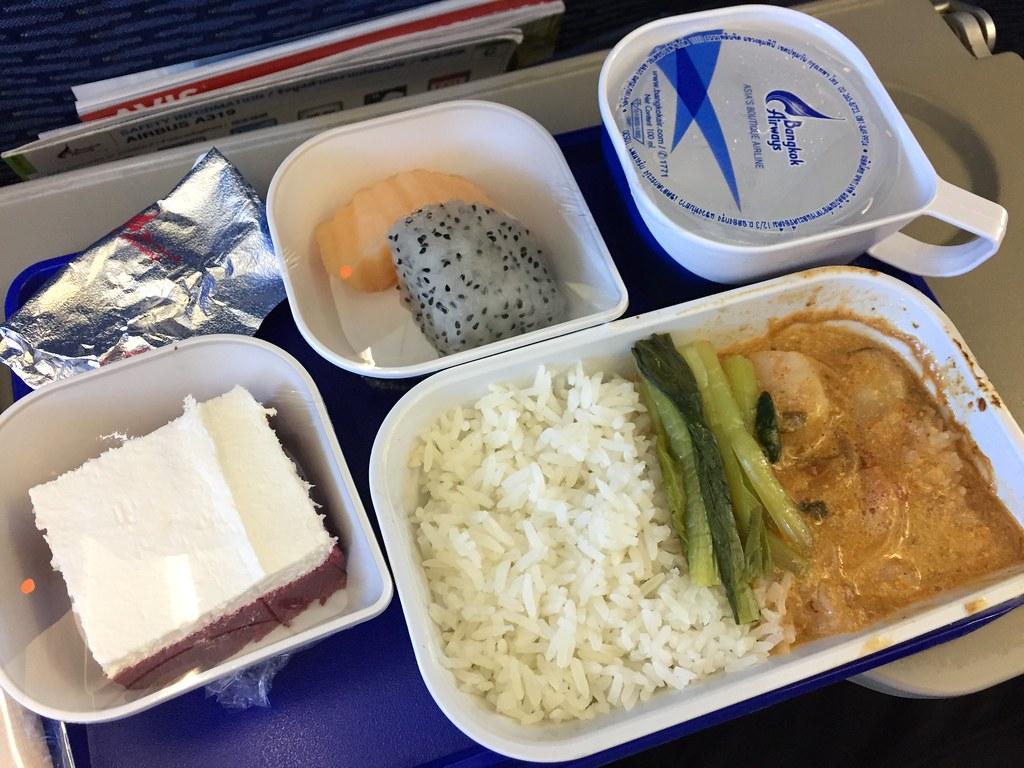 サムイ空港_機内食
