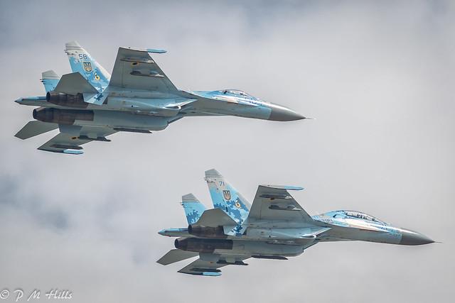 Ukraine Sukhoi Su-27 'Flanker'