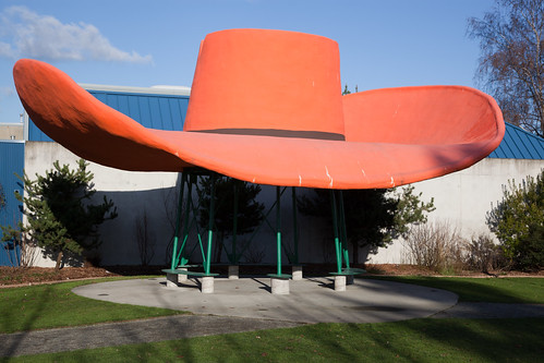 Giant Cowboy Hat | by camknows