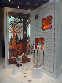 Vitrines de Noël Christofle - Paris, décembre 2012   by JournalDesVitrines.com