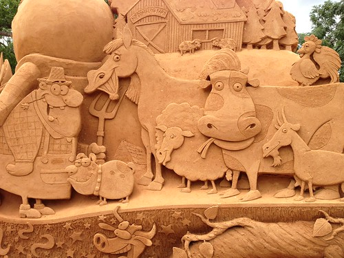 Sand sculpture | by Dushan and Miae