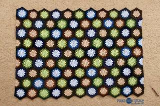 How to make a half hexagon