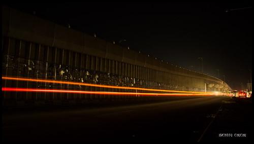 bridge night photography long exposure nigeria lightstreaks kwara ilorin nofuchu