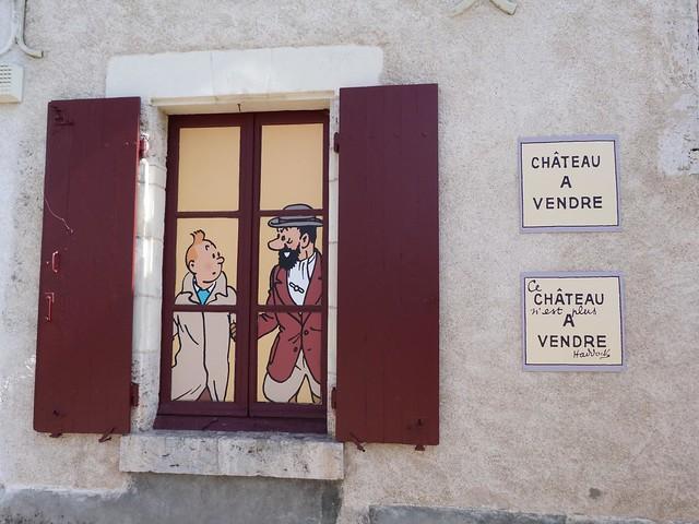 El castillo de Moulinsart de Tintín es realmente Cheverny (Valle del Loira, Francia)
