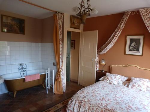 Habitación de Chateau de la Rue en Cours sur Loire (Valle del Loira, Francia)