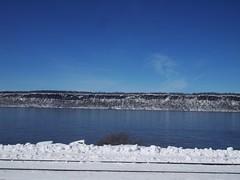 日, 2013-02-10 11:24 - 雪のハドソン川
