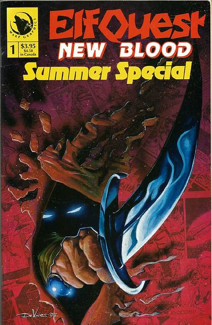 Comic Book Cover Elf Quest 1