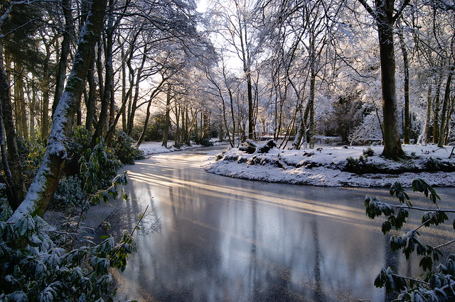 It's winter on reflection.