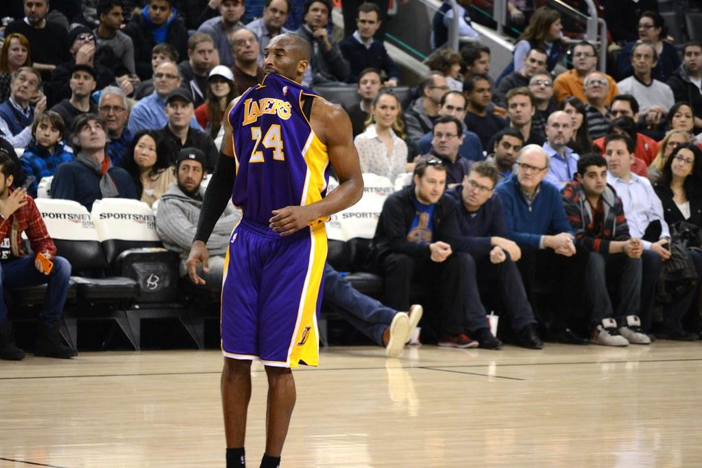 online store c9d52 389f6 Kobe Bryant Biting Jersey | Kobe loves to bite his jersey ...
