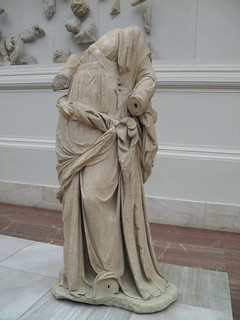 Statue from the Pergamon altar, Pergamon Museum Berlin   by Following Hadrian