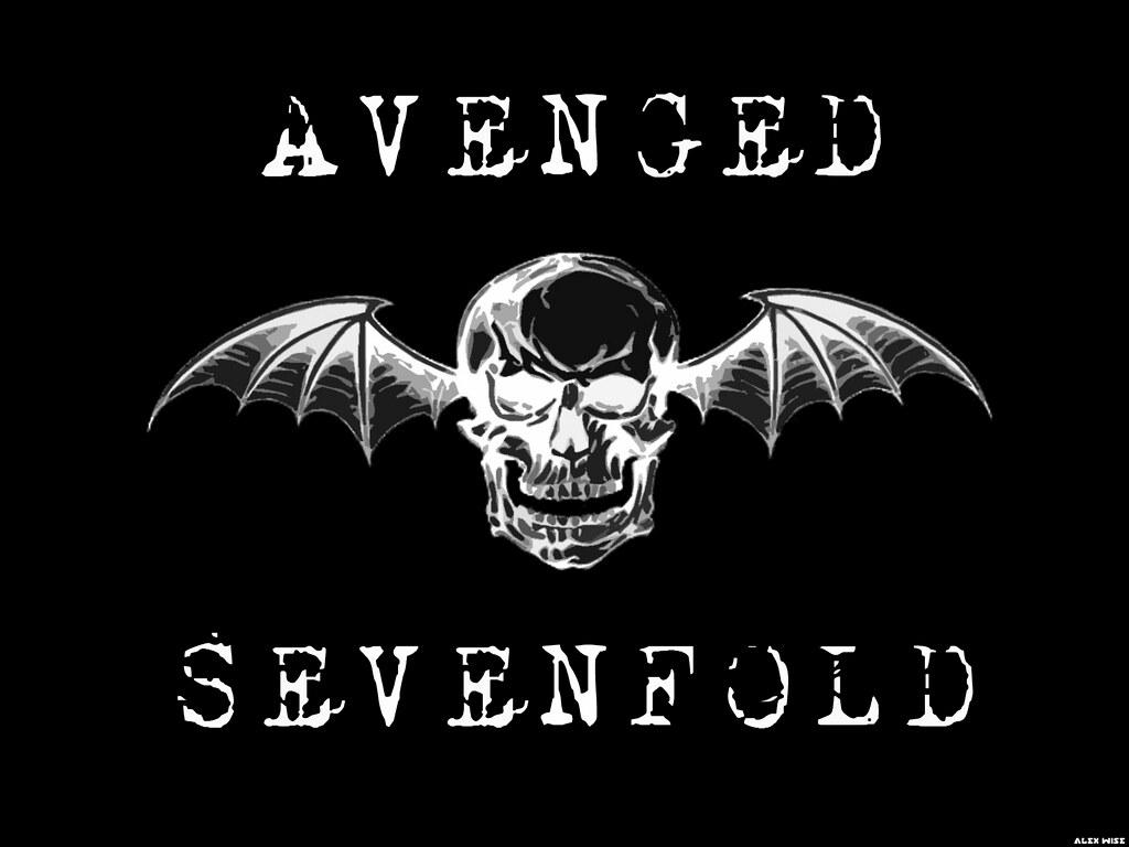 Deathbat Logo Oficial Do Avenged Sevenfold Mr Kusanagi Flickr