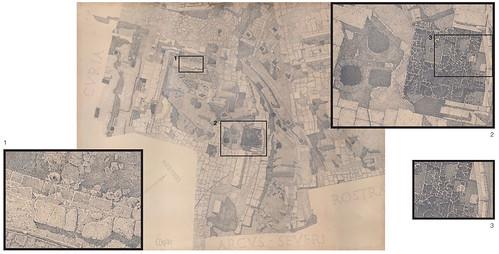 ROMA ARCHEOLOGIA: Prof. Giacomo Boni &  Arch. Guido Cirilli, Il Foro Romano | Comitium e Niger Lapis | Basilica Emilia (1899-1902), SSBAR ARCHIVI & indissoluble.com (12/2012).